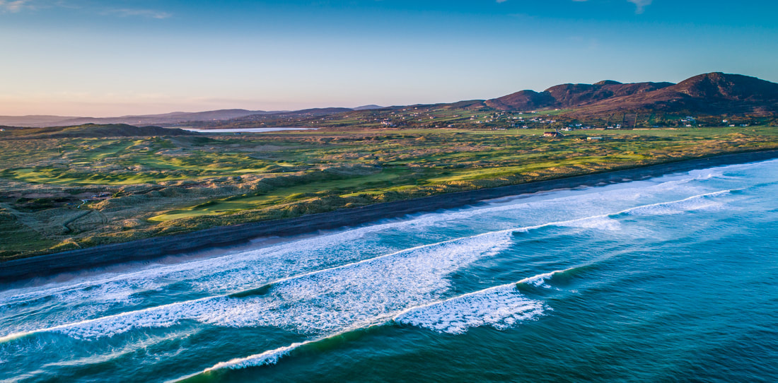 Ballyliffin Golf Club The Old Links 13th and 14th