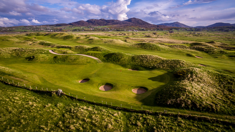 Ballyliffin Golf Club 5th Glashedy Links